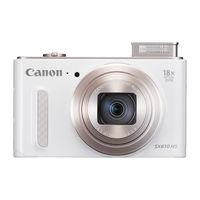 كاميرا كانون باور شوت SX 610HS, ابيض