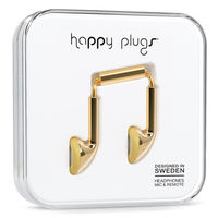 سماعة الاذن Happy Plugs Deluxe EDT, ذهبي