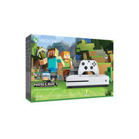 Microsoft Xbox One S 500GB Console with Minecraft game+ 3 months live gold membership