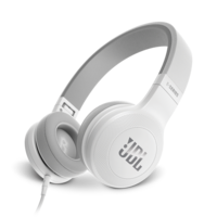 JBL E35 On-ear Headphones, White
