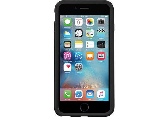 Otterbox Symmetry Series Clear Case for iPhone 6/6s, Black Crystal