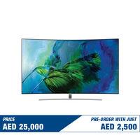 "Pre Order Samsung 65"" QA65Q8CAM Curved 4K Smart QLED Television"