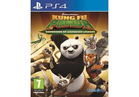 Kung Fu Panda Showdown of Legendary Legends for PS4