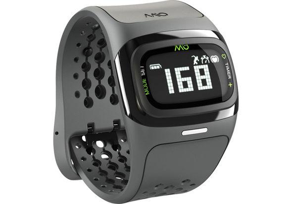 Mio Global ALPHA 2 Heart Rate Sport Watch, Black Trim