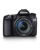 Canon EOS 70D EF-S 18-135mm,  Black