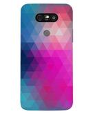 Stylizedd LG G5 Premium Slim Snap case cover Matte Finish - Violet Prism