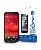 OZONE Shock Proof Tempered Glass Screen Protector for Asus Zenfone 2 (5.5 inch), Clear