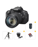 Canon 700D Kit 18-55+ Tripod+ Carry Case+ Ultra SD Card 16GB+ Canon EF 55-250MM STM