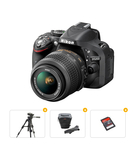 Nikon Bundle Offer D5200 18-55MM Lens Kit+ Tripod+ Carry Case+ Ultra SD Card 16GB