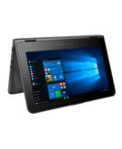HP x360 310 G2 Convertible 2-in-1 Laptop - Intel Pentium N3700, 11.6-Inch HD Touch, 128GB M. 2 SATA, 4GB RAM, Win 10, Black