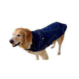 Zorba Designer Denim Jacket for Large Dogs, blue, 26 inch