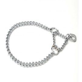 Kennel Single Semi Choke Chain for Small and Medium Dogs, 18 inch