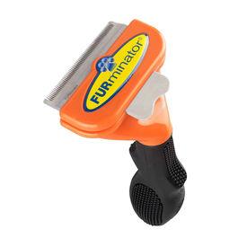 Furminator Medium Dog Long Hair Deshedding Tool, orange