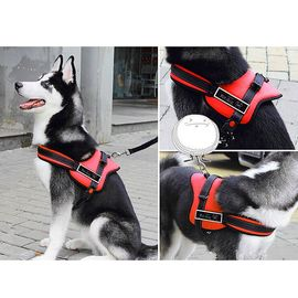 GP Heavy Duty Sports Reflective Senior Dog Harness for Large to Giant Dogs, red, xxl