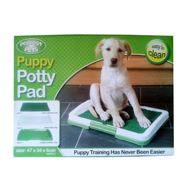 Perfect Pet Puppy Potty Training Pad Tray, 18 inch