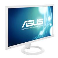 Asus VX238H-W LED Backlit LCD Monitor,  white, 23