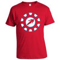 Iron Man T-shirt, Men,  red, m