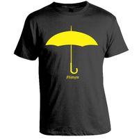 Monster Umbrella T-shirt, Men,  black, xl