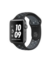 APPLE WATCH NIKE+ SERIES 2 42 MM SPACE GRAY ALUMINUM CASE WITH BLACK/COOL GRAY NIKE SPORT BAND MNYY2P/A