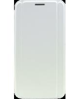 MYCANDY GALAXY S6 EDGE BOOK TYPE CASE WHITE