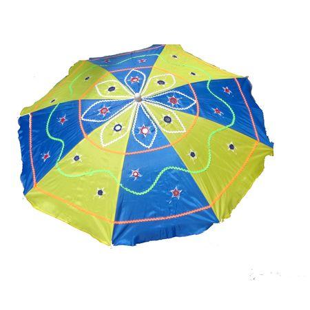 OHA003: Pipili handicrafted appliques Umbrella