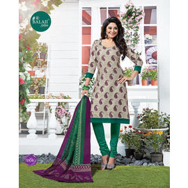 Pure Cotton Suits - Designer Party/Casual Wear Multicolor Salwar Suit