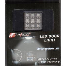 Super bright 9 LED door light universal design for door & trunk