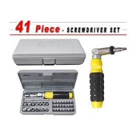 41 In 1 Pcs Tool Kit & Screwdriver Set Very Useful for Home, Office, PC & Car