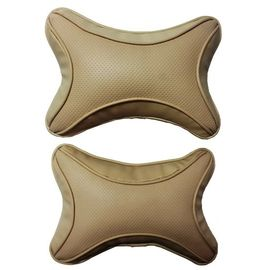 High Quality Universal Neck Pillow Head Rest Cushion-Beige (Set of 2 Pc)