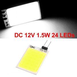 12V 24 Chips COB LED Car Dome/Door Light Roof Interior Lamp High Reading Light