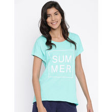 S51 - Beach T-shirt (Aqua), s, aqua
