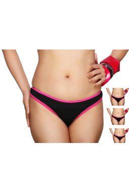 3 Bikini Brief panty pack - JKLOVPANTY-P-2010, s - pack of 3
