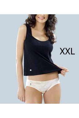 Premium quality Valentine Camisole Slip 5009, xxl  115-120 cm , black, 1 camisole slip