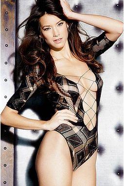 Lip Lock Honeymoon Lingerie - JKDLLC3198, black, free  30-34 bust  30-34 waist  30-34 hips , 1 piece lingerie  thong not included