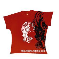 Wavy Girl_ Marathi_ Tshirts, extra large  xl