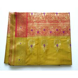 DESIGNER SAREE - POLYESTER SILK COLLECTION - 101