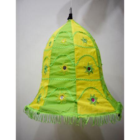 Embroidery With Mirror Work Handmade Pipili Lamp Shade AJ001693