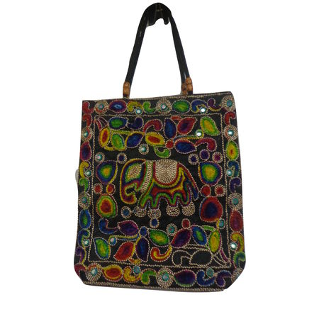 OHA073: Pipili Handcrafted Embroidoried HandBag.