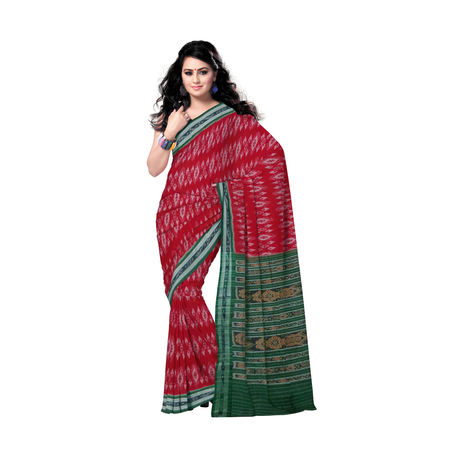 OSS7416: Handloom Cotton Saree