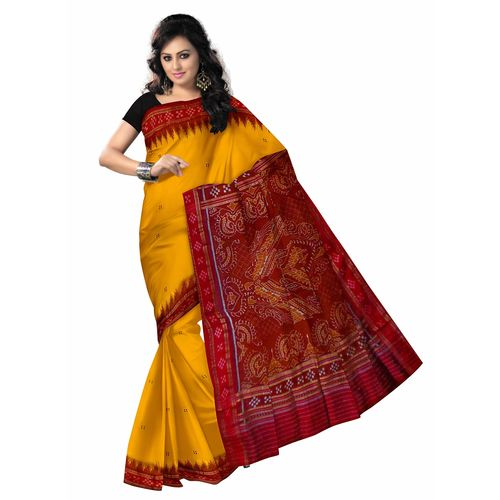 OSS5086: Silk Saree of Odisha handloom