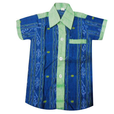 OSS8415: Cotton baby boy handloom Shirt