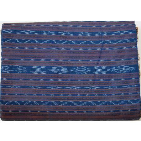 OSS6211: Cotton Ikat Designed Unstiched Kurta running material