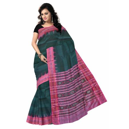 OSS5019: Green handloom Traditional Silk Saree for festival wear