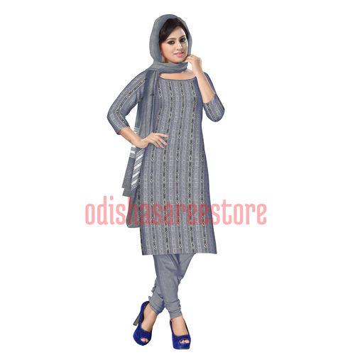 OSS211: Orissa Handloom sambalpuri design Unstitched Dress Material.