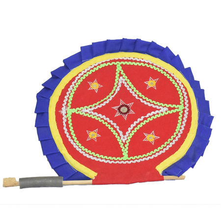 OHA045: Pipli Handmade fan.