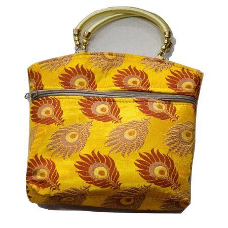 Handmade pipili Mayur Pankh design Hand purse AJ001640