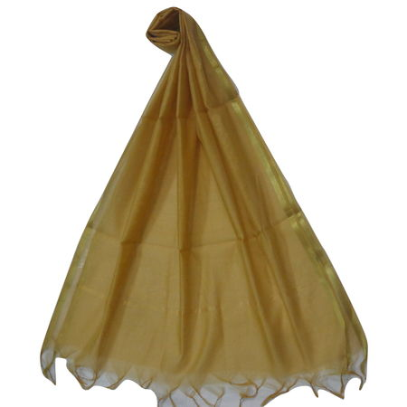 OSSUP161: Golden Color Banarashee Silk Dupataa
