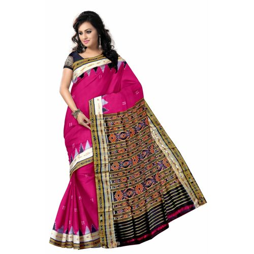 OSS5114: Soft Pink Traditional Handloom Silk Sarees for party wear