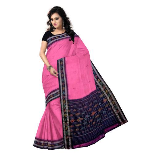 OSS470: Cotton Sari Orissa handloom