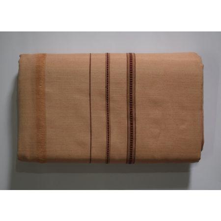 Handwoven Sandalwood Color Sambalpuri Cotton Joda AJ002048